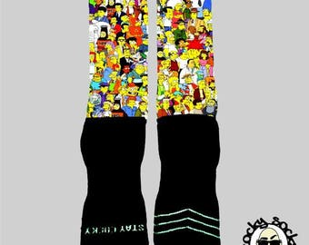 Simpson Socks || FREE SHIPPING ||