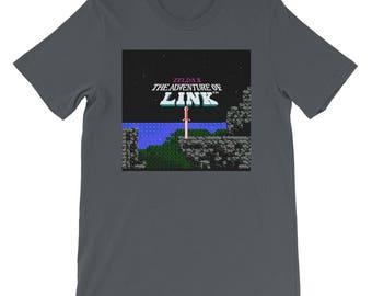 Zelda 2: The adventure of link in-the-middle Tee