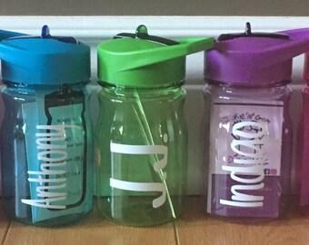 Personalized Kiddie Water Bottles