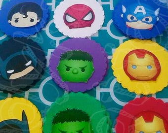 Banners, Custom Banners, Superhero Banners, Batman, Captain America, Hulk, Iron Man, Spiderman, Superman