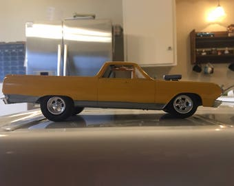 1965 El Camino Yellow Hot Rod TEST