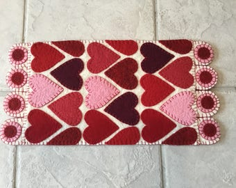 Valentines Day Table Runner