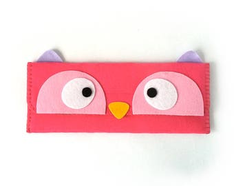 Owl Long Pouch
