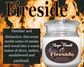 Fireside Scented Jar Candle (16 oz.)!