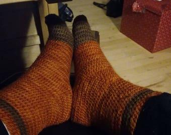 Socks needlebinding