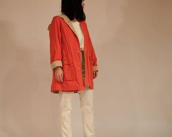 Reversible Rain Coat, S