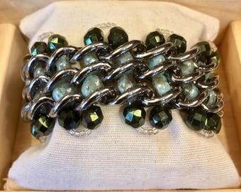 Green Water chain Bracelet