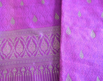 Thai woven cotton fabric