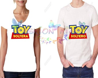 Duo-Paired T-shirt (single toy and single toy)