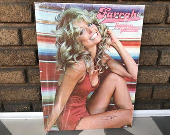 Vintage Factory Sealed Farrah Fawcett Puzzle