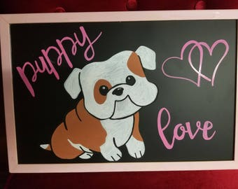 Custom Handdrawn Chalkboards
