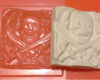 Soap mold, Icetray, Form for chocolate, Clean, the Bandit, the Pirate, Roger