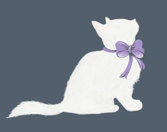 Charming Kitten Nursery Decor
