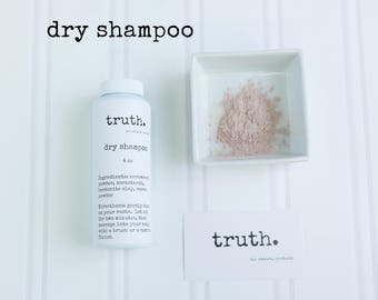 truth. dry shampoo