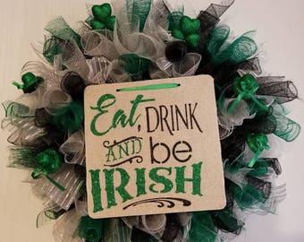 St Patrick's Day Wreath