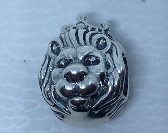 New Authentic Pandora Lion Head King of the Jungle 791377