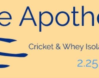 Azure's House Blend – Powerhouse Cricket / Whey Protein Powder Blend - 24 oz