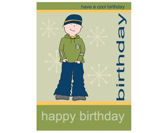 Wise Products - Birthday Card for Teenager Boys