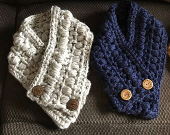 Chunky Neck Warmer Scarf