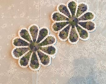 Set of 2 pot holders