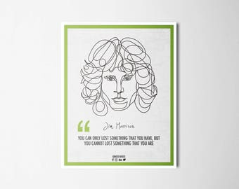 Ilustrattion-Influencers Jim Morrison
