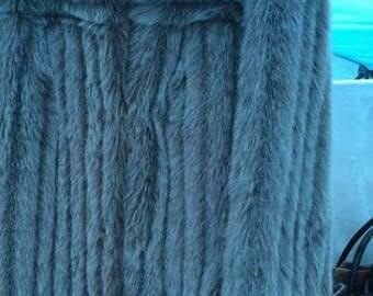 Vintage Ladies faux fur Jacket size 12