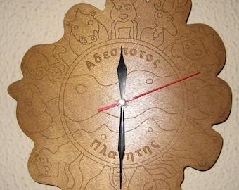 Stray Planet Clock