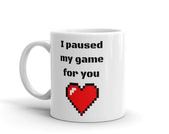 paused my game for you