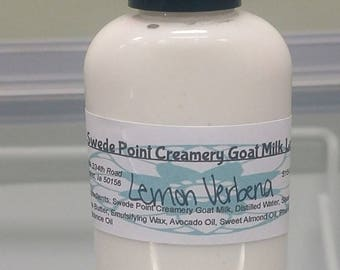 Lemon Verbena Goat Milk Lotion 2 oz