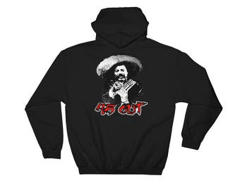 Pancho Villa Anti Trump Hooded Sweatshirt Forty Five Out