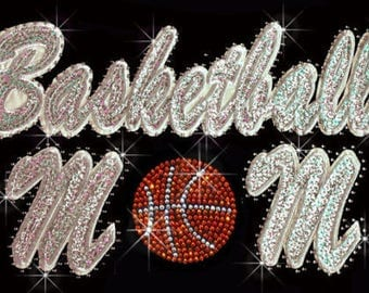 basketball  iron on high quality  sequins / embroidered