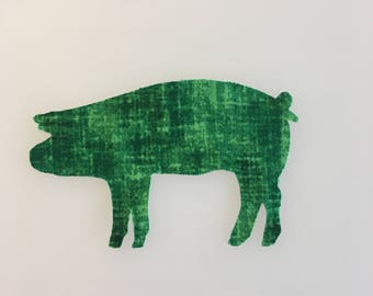 Pig Sew-on Patch