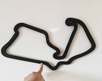 F1 Track wall art