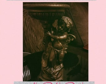 Vintage cherub ornament
