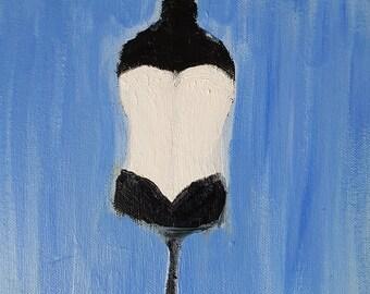 Peinture originale - «Corset»