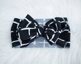 Black with White Squares