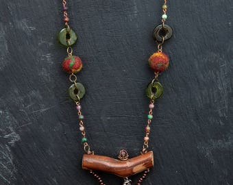 natural elements necklace
