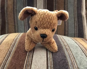 """Rare """"Tuffy"""" the dog beanie baby, DOB October, 12, 1996 LIMITED PRODUCTION!!"""