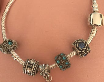 Bracelets with charms