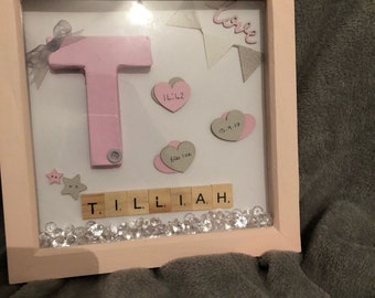 Baby Birth Memory Frame
