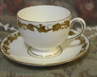 "Wedgwood ""Whitehall"" Tea Duo"