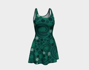 Teal Magic - Flare Dress!