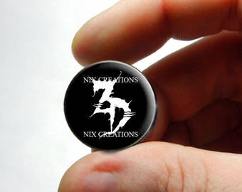 25mm 20mm 16mm 12mm 10mm or 8mm Glass Cabochon - Zeds Dead - for Jewelry and Pendant Making