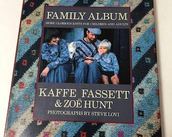 Family Album Knitting Book