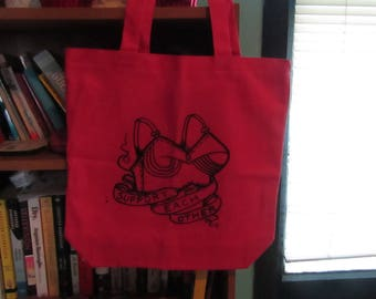 Support Each Other TOTE BAG