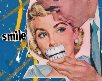 Smile {Original Collage}