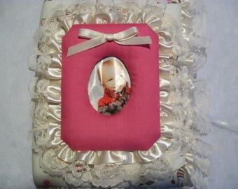 Baby Girl Pocket Photo Album / Brag Book - With Photo Frame - Nursery Animals