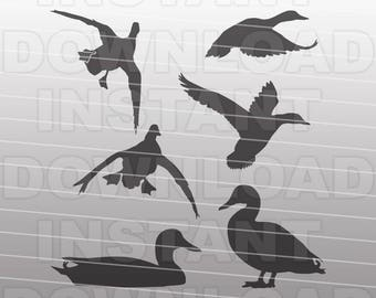 SVG Bundle,Duck SVG File,Mallard SVG File,Duck Hunting svg File-Vector Clip Art Cut File-Commercial/Personal Use for Cricut,Cameo,Silhouette