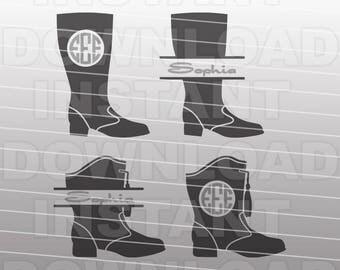 Drill Team Marching Band Majorette Boots SVG File, cricut svg, silhouette svg, svg cuts,cuttable svg,svg cut file,vector svg,vinyl files