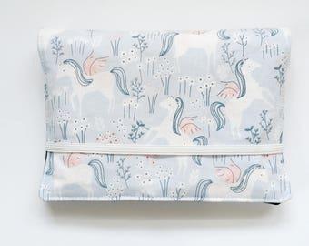 Crayon Wallet // Unicorns Ice by Dear Stella